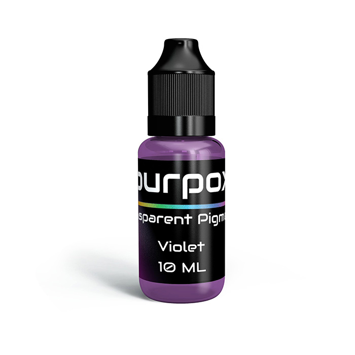 Pigment violet transparent