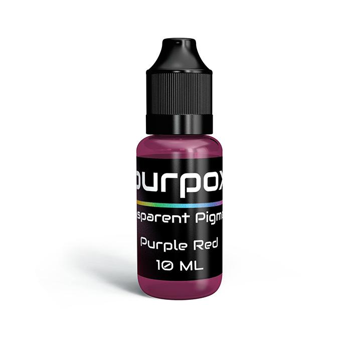purple red transparent pigment