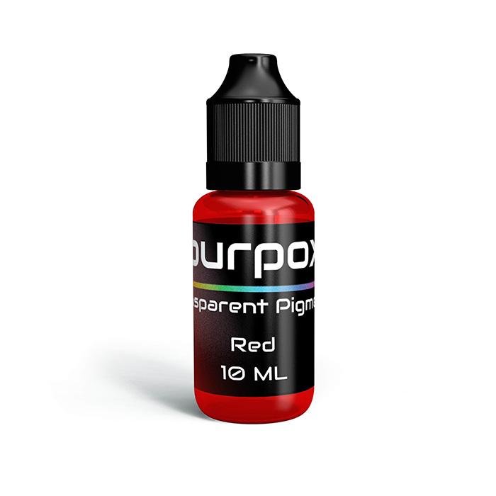 red transparent pigment
